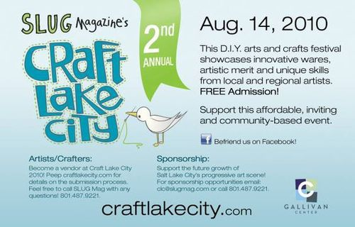 Craft lake city 2010 flyer