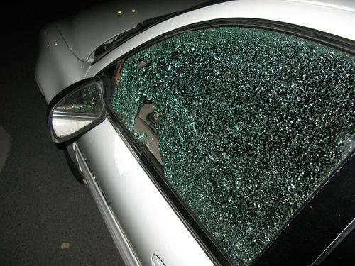 Car window broken