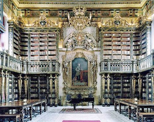 Library of colmbra portugal