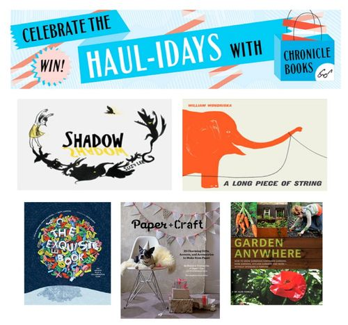 Chronicle books hauliday giveaway