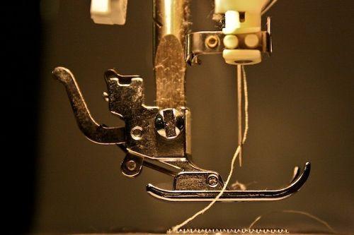 Fine art print presser foot