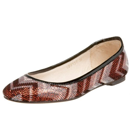 Sequin chevron holiday flat