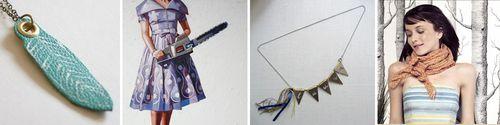Blog.wonderland.leatherfeather.dresschainsaw.namebanner.scarf