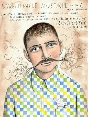 Unbelievable moustache