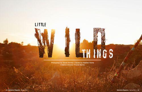 Babiekins little wild things